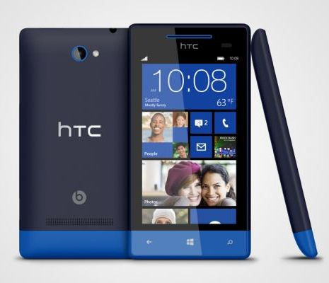 HTC announces its high-end Windows Phone 8X smartphone