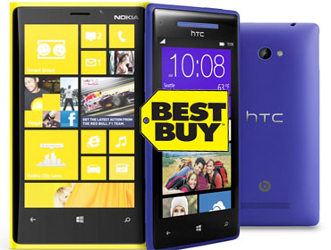Best Buy starts accepting pre-orders on Nokia Lumia 920 and HTC Windows Phone 8X