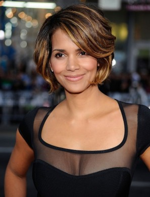 Celebrity Hairstyles-Halle Berry