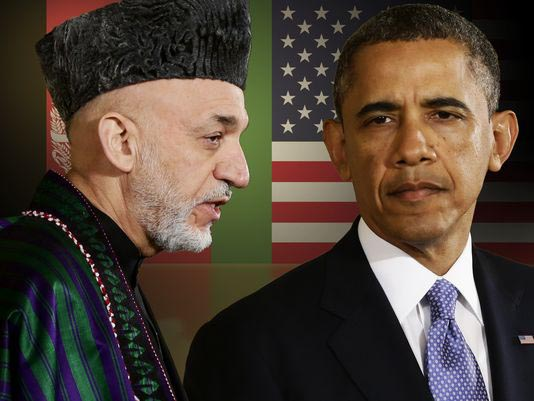 Hamid-Karzai-Barack-Obama