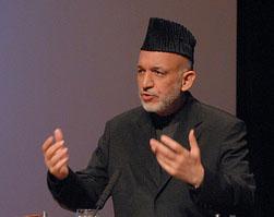 Karzai slammed his karakuli cap on table during explosive meeting with Holbrooke