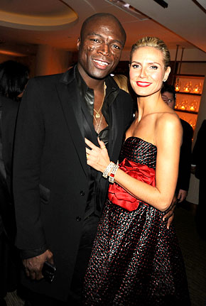 heidi klum seal wedding pictures. Seal, Klum call off Mexican