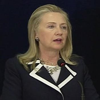 'Hillary Clinton aims to rejoin office next week'