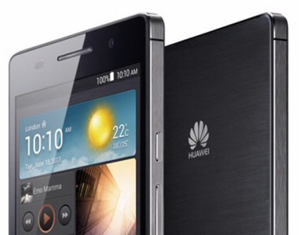 Huawei smartphone sales surge
