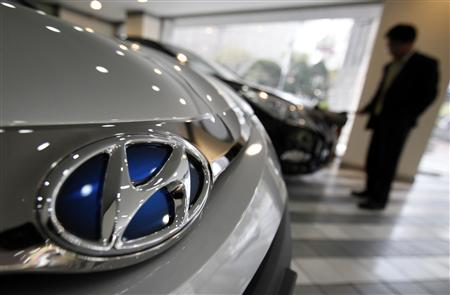South Korean automakers's sales rise
