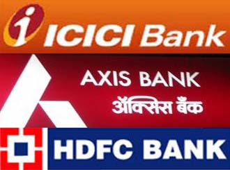 ICICI-Axis-HDFC-banks