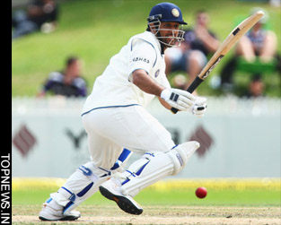 Indian tail wags in Wellington to post respectable 375 for nine on day one