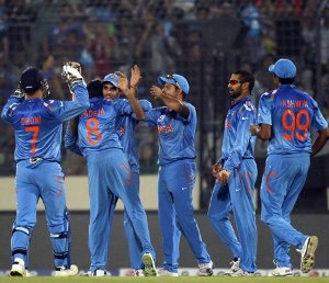 Spinners wreck havoc on West Indies in India's easy victory in World T20 tournament