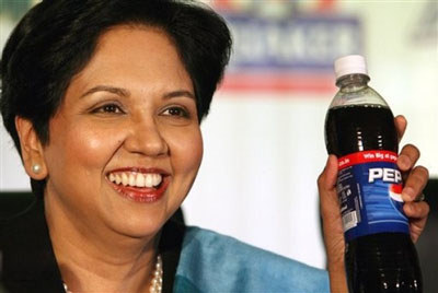Indra Nooyi received $17 million in compensation in 2011