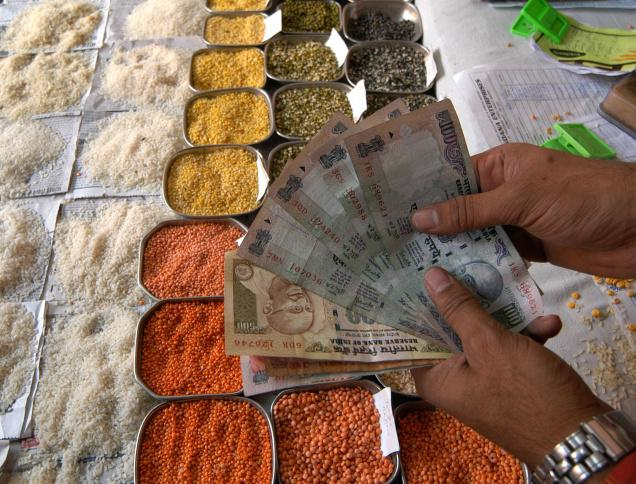 Food inflation up 17.28 percent