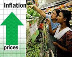 India's annual inflation rose to 9.89 percent in February