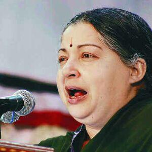 Jayalalithaa attacks Congress for calling her anti-national on Ealam demands