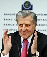 European Central Bank (ECB) chief Jean-Claude Trichet