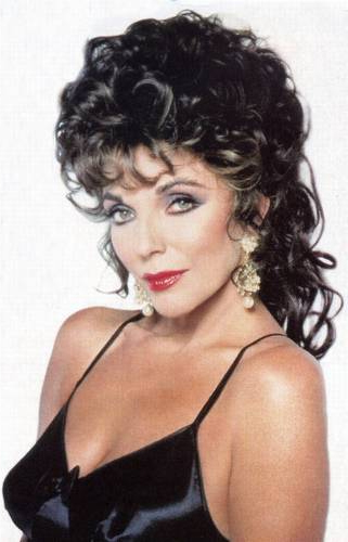 Joan Collins support for