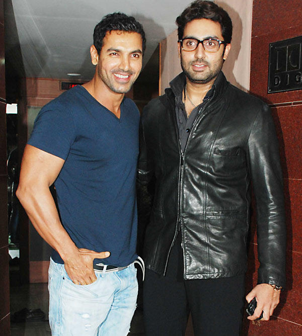 Indian Bollywood actors (L-R) Abhishek B Pictures | Getty Images