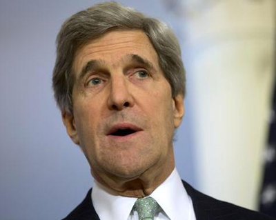 Kerry says Assad lost legitimacy to be part of Syria transition