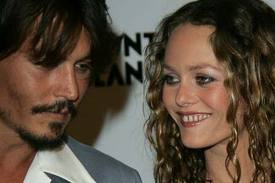 Depp, Paradis split because of Jolie