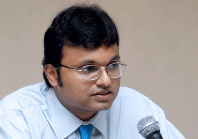 SC issues notices to two companies linked with Chidambaram's son Karti