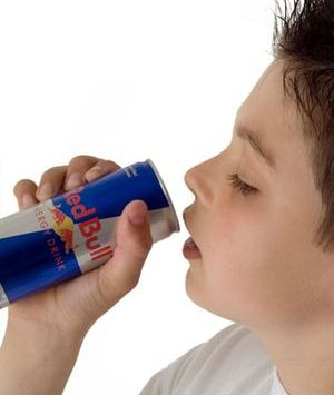 Kids should not be given energy drinks