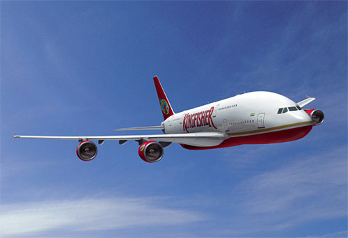 Kingfisher Airlines In Air Wallpapers