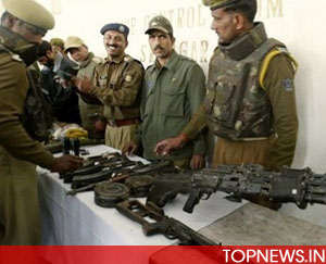 Kolkata police seize huge cache of arms