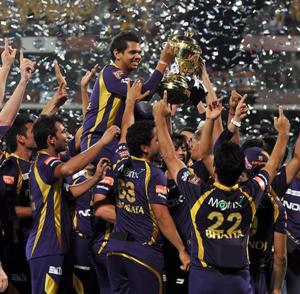 Knight Riders take home second IPL title