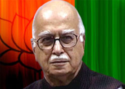 Advani targets government''s policy on terror