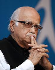 Advani congratulates Rajnath Singh on his being elected BJP president