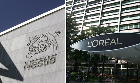 L'Oréal to buyback 8% shares From Nestlé