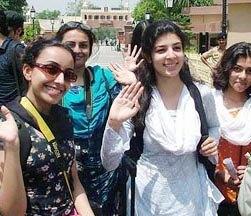 Lahore Varsity Students