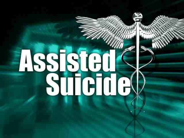 Legal assisted suicide might be a possibility