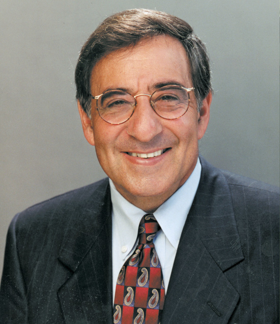CIA director Leon Panetta meets Indian officials