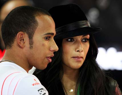 Lewis Hamilton will not let Pussycat Doll girlfriend drive him