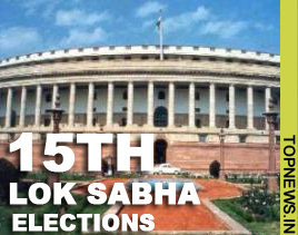 Polling for 15th Lok Sabha elections begins