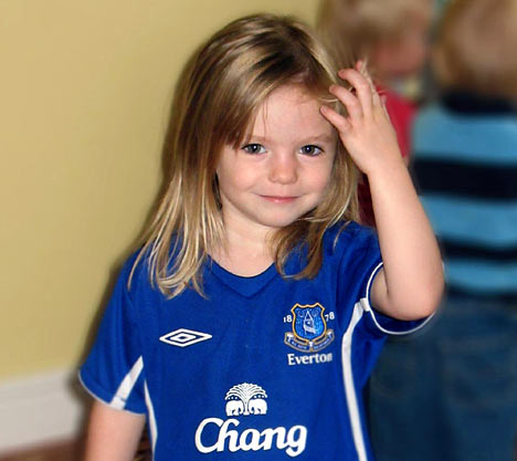 toddler Madeleine McCann in Portugal is being sought in Australia