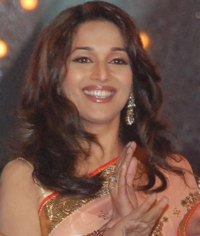 madhuri dixit without bra