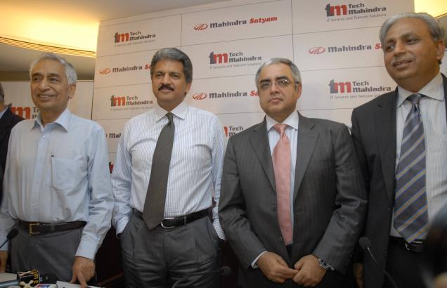 Mahindra Satyam Among Gainers; Indian Markets Trading One Per Cent Lower
