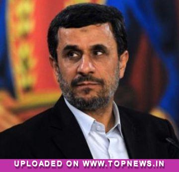 Ahmadinejad survives 'shoe attack' on historic Egypt visit