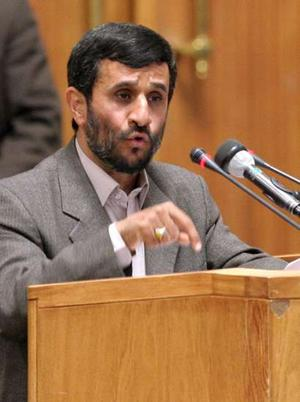 """Ahmadinejad urged to be """"constructive"""" before controversial speech"""
