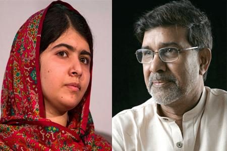Malala Yousufzai Kailash Satyarthi