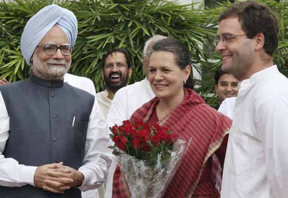 PM, Sonia, Rahul to campaign in Assam, UP and MP today