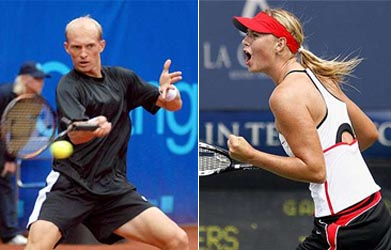 Sharapova, Davydenko injured, out of Miami Masters