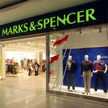 "Sales in ""Marks & Spencer"" rise in the first quarter of this year"