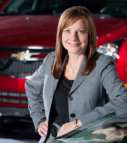 GM names Mary T. Barra as its next CEO