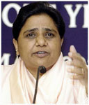 Mayawati for trifurcation of Uttar Pradesh
