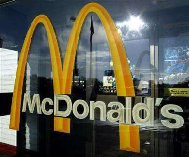 McDonald's reports fall in global sales in October