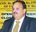 Mehul Choksi, Chairman and Managing Director, Gitanjali Gems