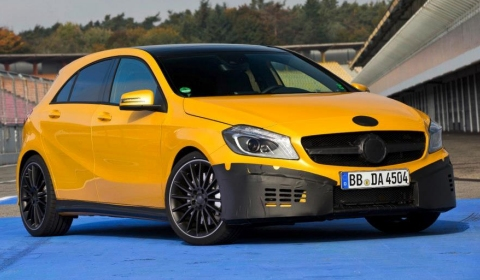 Mercedes-Benz releases first official teasers for A 45 AMG