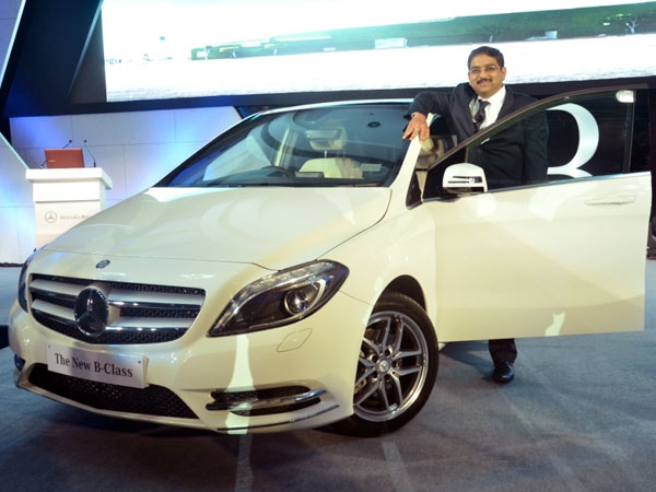Mercedes-Benz India introduces inexpensive B-Class luxury car