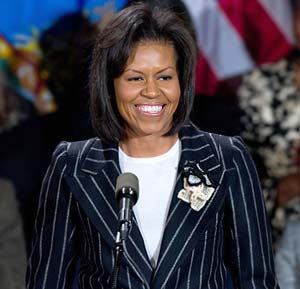 Michelle Obama to represent Chicago Olympic bid